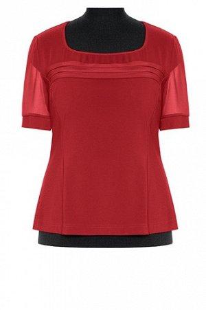 Блуза ННБ21/бордовый