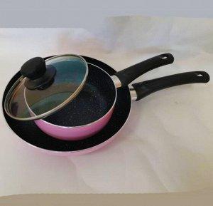 Набор Amercook сковорода 24 см+ковш с крышкой 16 см