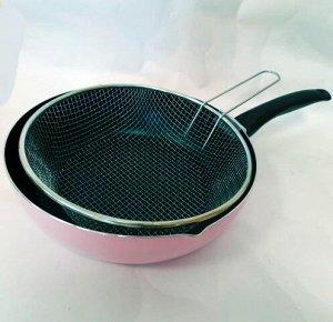 Набор Amercook сковорода 28см+фритюр 26 см
