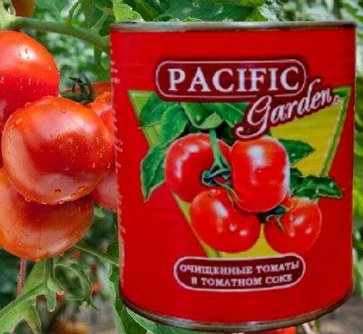 Экспресс! Тушенка по ГОСТу! Новое поступление! — Очищенные томаты в томатном соке, огурчики Pacific Garden — Овощные и грибные
