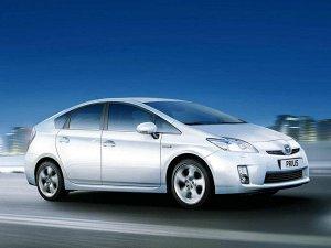 Ковры салонные LUX 3D Toyota Prius 30 (2009--)
