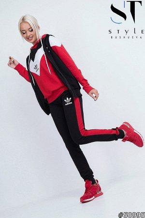 Спортивный костюм тройка 50995 (жилет+ кофта+ брюки)