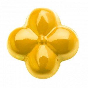 Краситель сухой жирорастворимый на основе какао-масла Yellow, Power Flowers, Бельгия, 1 г