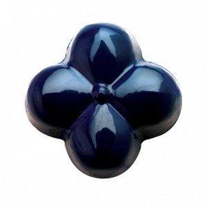 Краситель сухой жирорастворимый на основе какао-масла Blue, Power Flowers, Бельгия, 1 г