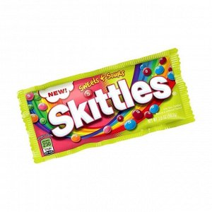 Драже Skittles Sweets+Sours