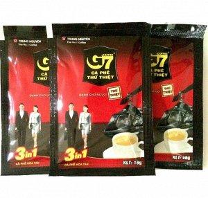 Кофе растворимый «G7» 3в1 50 пакетиков