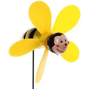 """Фигура на спице """"Пчелка"""" 10*40см ветрячок"""
