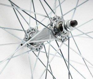 Колесо переднее в сборе на велосипед Гамма 28д.