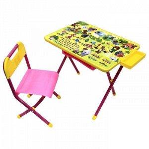 "Набор мебели ""Дэми"" №3/1 (розовый) - ""Медведи"""