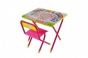 """Набор мебели """"Дэми"""" №1 (розовый) - """"Алфавит"""""""