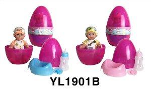 Пупс в наборе OBL746351 YL1901B (1/12)