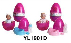 Пупс в наборе OBL746353 YL1901D (1/12)