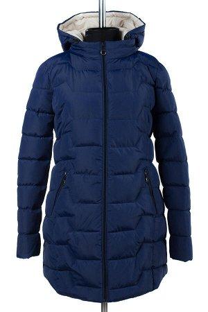 04-1695 Куртка демисезонная (Синтепух 200) Плащевка темно-синий