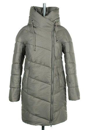 04-2161 Куртка демисезонная (Синтепух 200) Плащевка серо-зеленый