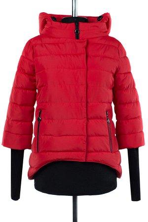 04-0898 Куртка демисезонная (Синтепух 150) Плащевка красный