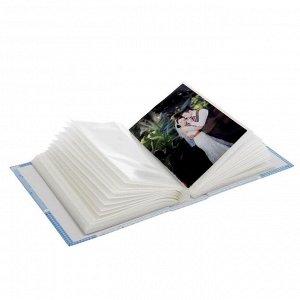 """Фотоальбом на 100 фото 10х15 см """"Для новорождённого"""", микс"""