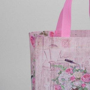 Сумка хозяйственная, отдел без молнии, цвет розовый