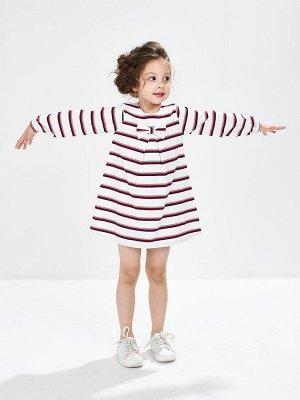 Платье в полоску (80-92см) UD 1006(1)полоска