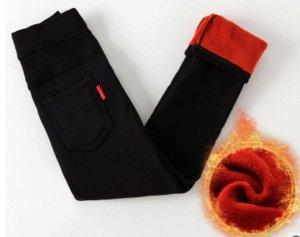 Теплые штаны джегинсы