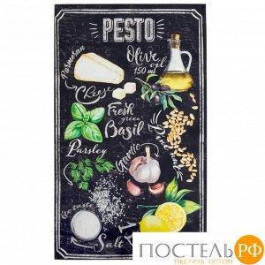 """Полотенце """"Этель"""" Pesto 40х70 см, 100% хл, саржа 190 гр/м2 (отгружается по 2 шт)"""