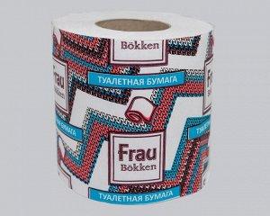 Туалетная бумага 1 рулон вторичное волокно 23,75м