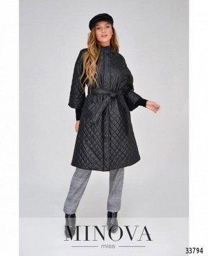 Куртка №1852-черный