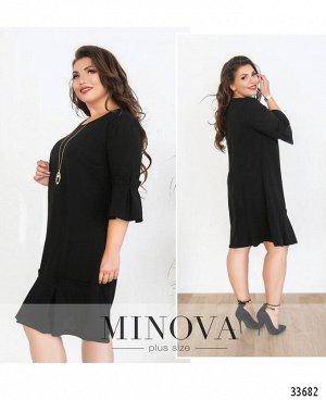 Платье №136-черный