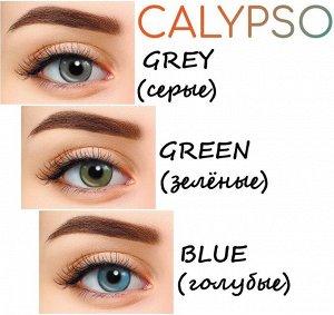 Перекрывающие цветные контактные линзы Hera Calypso (2 линзы) (диоптрийные)