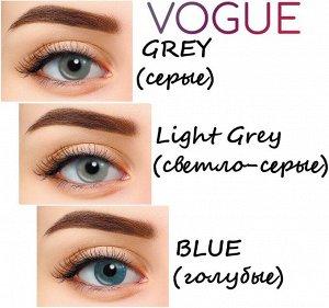 Перекрывающие цветные контактные линзы Hera Vogue Нулёвки (2 линзы)