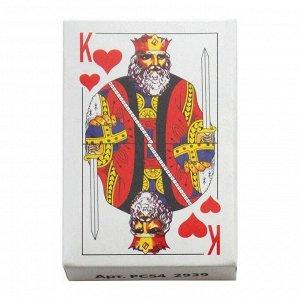 Карты игральные 54 карт, с пластиковым покрытием