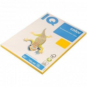 "Бумага IQ ""Color intensive"" А4, 80г/м2, 100л. (солнечно-желтый)"