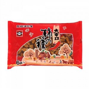 Закуска NANIWAYA SEIKA соленая с перцем, 138 гр