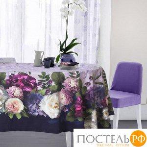 Набор столовый «Этель» «Цветочный этюд», скатерть 110 ? 150 см, салфетки 40 ? 40 см, 4 шт., хлопок 100 %