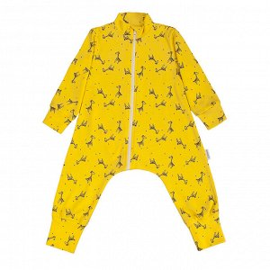 "Комбинезон-пижама на молнии легкий ""Жирафы"""