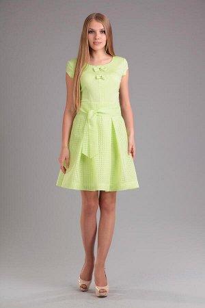 Платье, юбка EOLA Артикул: 1117 салат