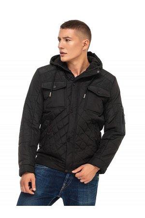 Куртка мужская демисезонная (цвет чёрный)