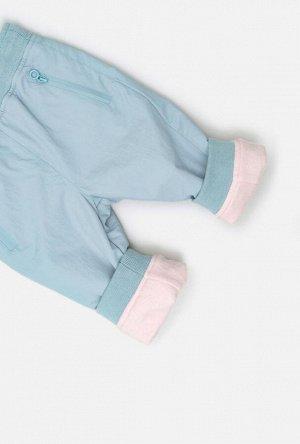 Брюки (утепленные)детские для девочек Selective1 светло-серый