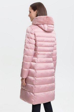 Пальто жен. Muss розовый