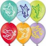 """12""""шар воздушный с рисунком Disney Феи"""