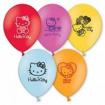 "12""шар воздушный с рисунком Hello Kitty"