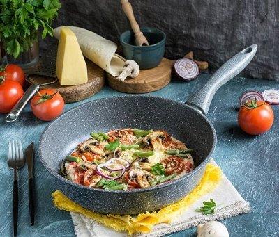 ASTERIA Посуда с антипригарным покрытием! Жарим без масла!10 — Сковородки — Сковороды