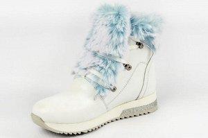 Ботинки Тип: ботинки  Подошва: ТЭП  Вид застежки: шнурки Верх: натуральная кожа