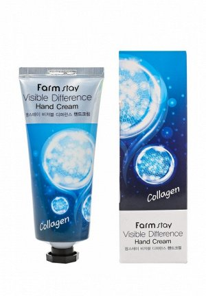 Farm Stay / Крем для рук FARMSTAY VISIBLE DIFFERENCE HAND CREAM COLLAGEN