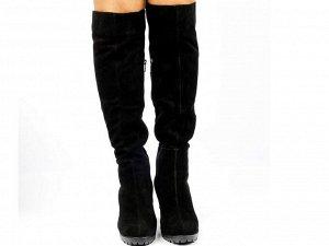 Ботфорты Тип: Ботфорты Модель на худую ногу Материал верха: натуральный велюр Подошва - ТЭП  Байка  Объем голенища 34 см в 36/37 размере, 35 см в 38/39 размере, 36 в 40/41 размере. Объем голенища указ