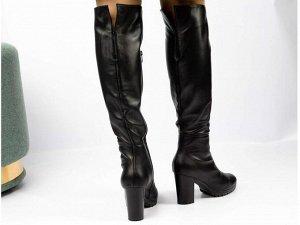 Ботфорты Тип: Ботфорты Модель на худую ногу Материал верха: натуральная кожа Подошва - ТЭП  Байка  Объем голенища 34 см в 36/37 размере, 35 см в 38/39 размере, 36 в 40/41 размере. Объем голенища указа