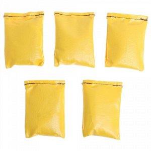 Набор мешочков для метания 5 шт. 150 гр.