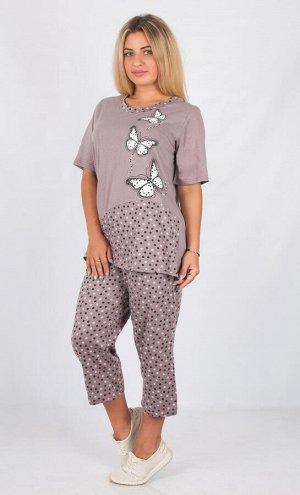 Пижама Материал: кулирка; Состав: 100% хлопок