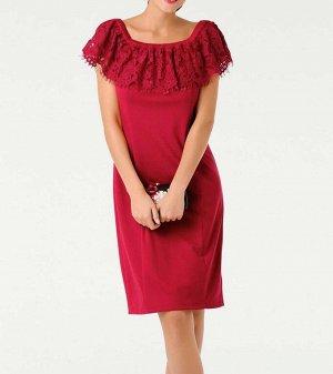 Платье, красное