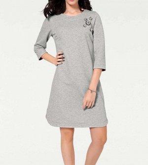 Платье, серебристое