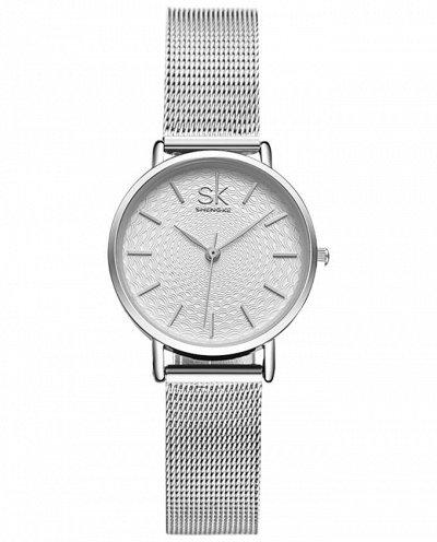 Shengke - часы с японским качеством! 5 Отличные отзывы! — Регулируемый ремешок — Часы